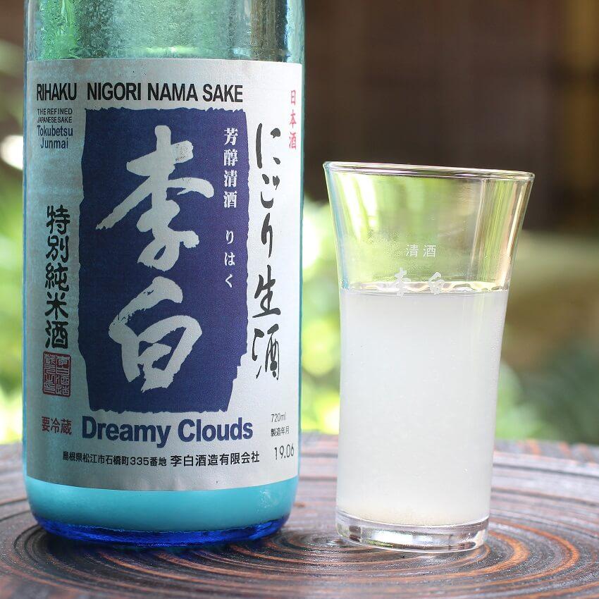 李白 特別純米にごり酒 Dreamy Clouds(生)