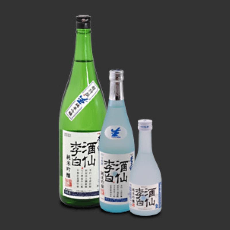 李白 純米吟醸 酒仙李白(生)